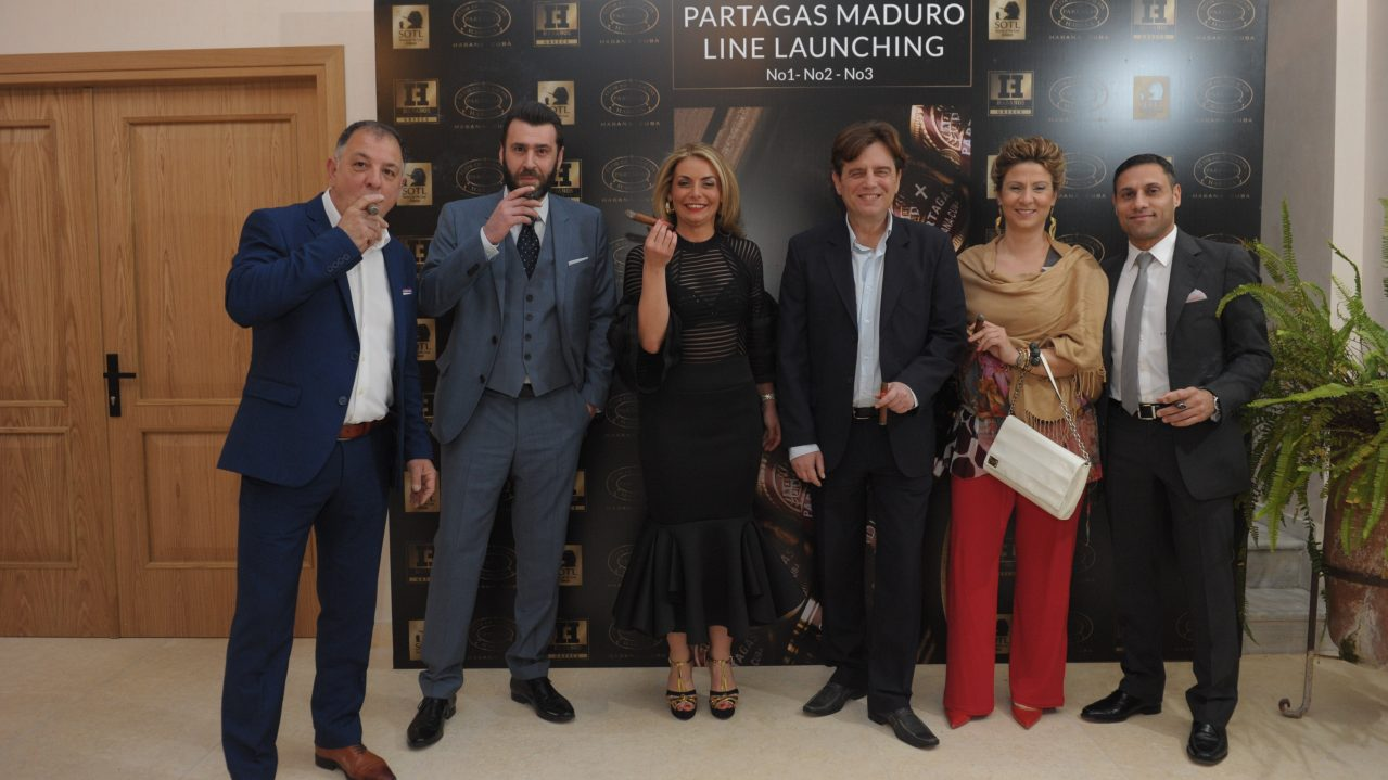 Partagas Maduro Line Launching 08th May 2019 – Greece